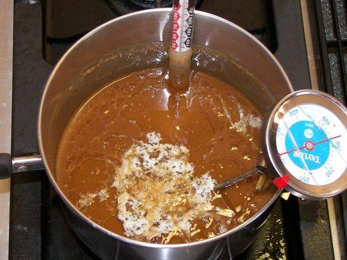 Caramel Frosting Mellting Butter LOF Crop