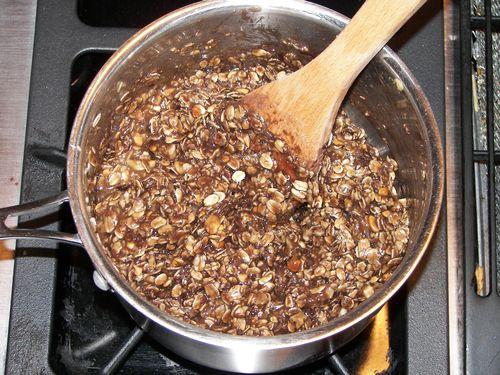 Uncooked Oatmeal Cookies 012