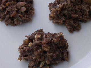 Uncooked Oatmeal Cookies 015CRP