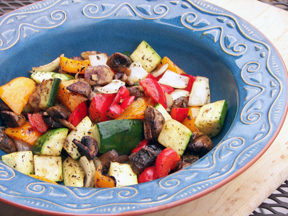 Grilled Mediterranean Vegetables